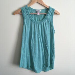 Cabi | Light Turquoise Sleeveless Top Medium